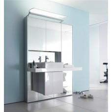 зеркальная стена + мебель + система хранения Duravit MW 9823